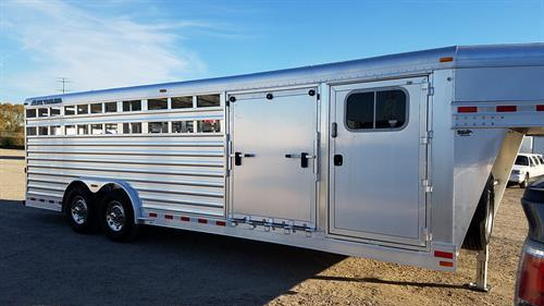 2013 Elite: 24' Stock Combo with 4' dressing room and side ramp- 8' wide x 6' tall x 24' floor length