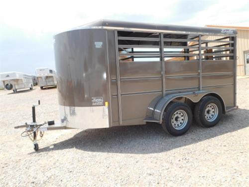 "AD#42437 2017 Delta BP 6' X 14' X 6'6"" 500ES 2 Horse, Full Width Rear Gate W/Half Slider, Dress Room W/Movable Bulkhead Wall, 2 Tier Saddle Rack, Bridle Hooks, Butt Strap, LED Lights, 2-3500 Lb Spring Axles, Spare Tire Mount. Sug Selling $6,928  Sale Price $5,190"