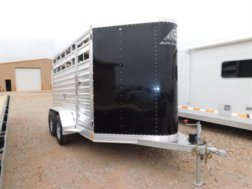 "AD#16988 2018 Elite Wrangler BP 6'8"" X 11' X 6'6"" Black Skin V-Nose Stock, Full Width Rear Gate W/Half Slider, HD Slam Latch Center Gate W/Outside Quick Release, HD Tread Plate Floor, HD Bruch Fenders W/Extruded Aluminum, LED Bullet Lights, LED Interior Light. Financing & Delivery Available! Sug Selling $13,872  Sale Price $9,950"