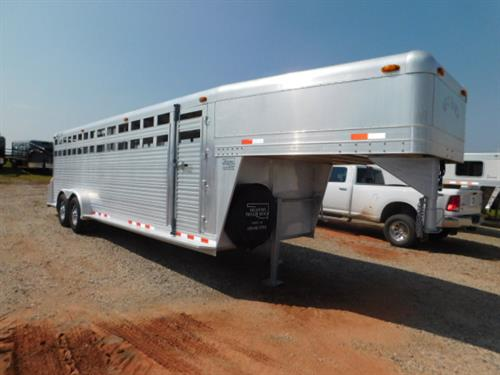 "AD#3342 1999 4Star GN 7' X 24' X 6'6"" Stock, Full Width Rear Gate W/Half Slider, 2 Center Gates W/Half Sliders, Escape Door, Drop Down Calf Gate, GN Access Door, Corrugated Tread Plate Floor, 2-7,000 Lb Axles, New Goodyear 235/85 R16 + Spare. Trailer Has Been Fully Serviced & Ready To Go! Trailer Is In Excellent Condition! Sale Price $12,900"