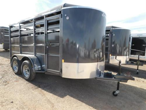 "AD#46514 2019 Delta 500 ES BP 6' X 14' X 6'6"" Stock, Full Width Rear Gate W/Half Slider, Center Cut Gate, Escape Door, Treated Pine Floor, All LED Lights, 2-3,500 Lb 6 Hole Spring Axles, 225/75 R15, 2"" Coupler. Financing & Delivery Available! Sug Selling $6,205  Sale Price $5,150"