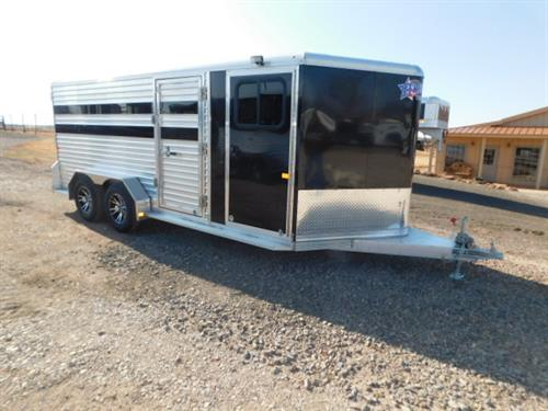 AD#1085 2019 Frontier BP 7' X 16' X 6' Low Pro 6 Pen Hog, 4' V-Nose Dress Room, Bucket Hangers, Spare Tire Mount, Floor Mat, Rear Ramp W/Double Doors, 50/50 or 60/40 Pen Style, 6 Roof Vents, Escape Door, 2 Load Lights, All LED Bullet Lights, 2-3,500 Lb 6 Lug Axles, 225/75 R15 W/Aluminum Wheels. Financing & Delivery Available! Sug Selling $21,952  Sale Price $17,500