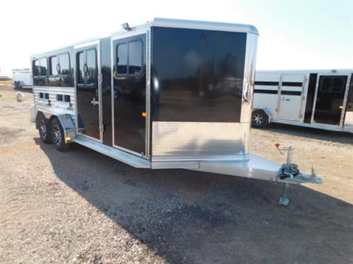 AD#1070 2019 Frontier BP 7' X 16' X 6' Low Pro 6 Pen Hog, 4' V-Nose Dress Room W/Walk-Thru Door, Bucket Hangers, Spare Tire Mount, Floor Mat, Rear Ramp W/Double Doors, 50/50 or 60/40 Pen Style, 3 Drop Down Windows W/Fold Down Bars, Hinged Slats To Cover Lower Air Gap, Escape Door, 3 Drop Down Windows W/Fold Down Bars , Lined & Insulated Roof & Walls, Front Gravel Guard, 2 Load Lights, All LED Bullet Lights