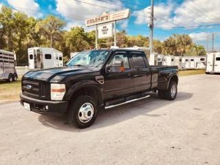 2008 Ford F-350 XLT Crew Cab Dually with 92,000 miles on a 6.4L Diesel Engine, Automatic, Cloth Interior and a Gooseneck Hitch in the bed!