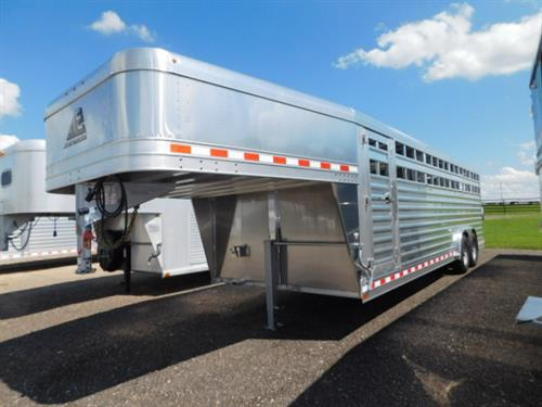 "AD#18964 2020 Elite GN 8' X 24' X 6'6"" DLX Stock, Full Width Rear Gate W/Half Slider, 2 Slam-Latch Center Gate, Outside Quick Release Latches, Diamond Tread Plate Floor, Drop Down Calf Gate, Escape Door, LED Bullet Lights, LED High Turn Signals, Interior Dome Light, 2-7,000 Lb Axles, 16"" Radials. Financing & Delivery Available! Sug Selling $29,621  Sale Price $22,500"